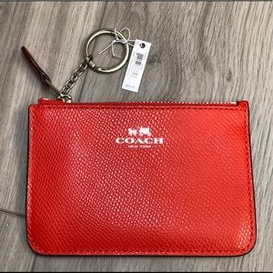 Authentic Coach coin/key pouch